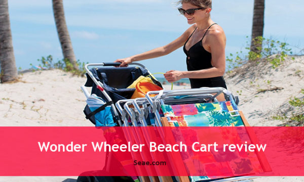 Wonder Wheeler Beach Cart review
